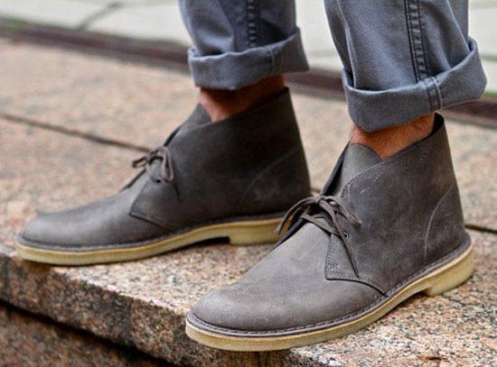 防寒保暖兼具时髦狂野!沙漠靴走出冬日型范
