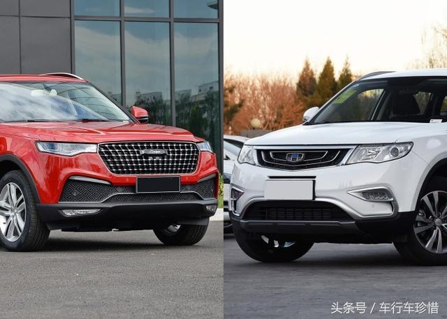 自主SUV新增月销万台良心车,4.7米车身力拼博越、长安CS75